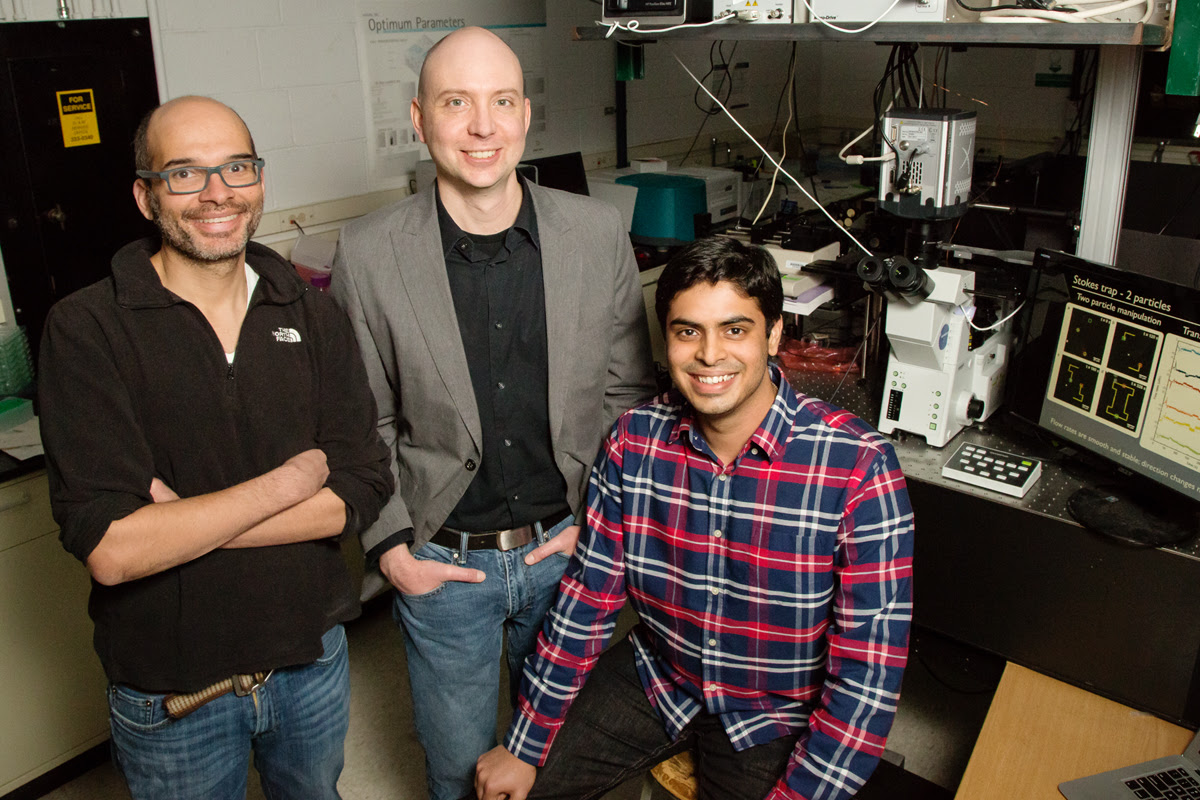 Researchers develop new method of trapping multiple particles using fluidics